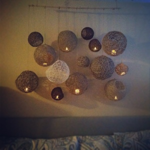 Hemp Ball Hanging Mobile (3/6)