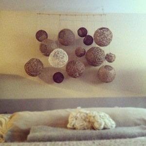 Hemp Ball Hanging Mobile (5/6)