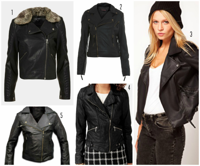 faux leather jackets roundup