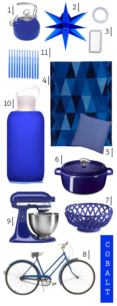 A Few Of My Favorite Things Cobalt Blue Stick Girl Jam