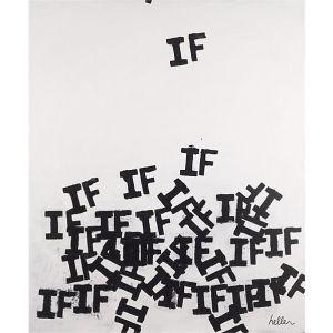 Falling Ifs Print by Matthew Heller, CB2