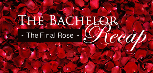 Bachelor Sean Final Rose Proposal