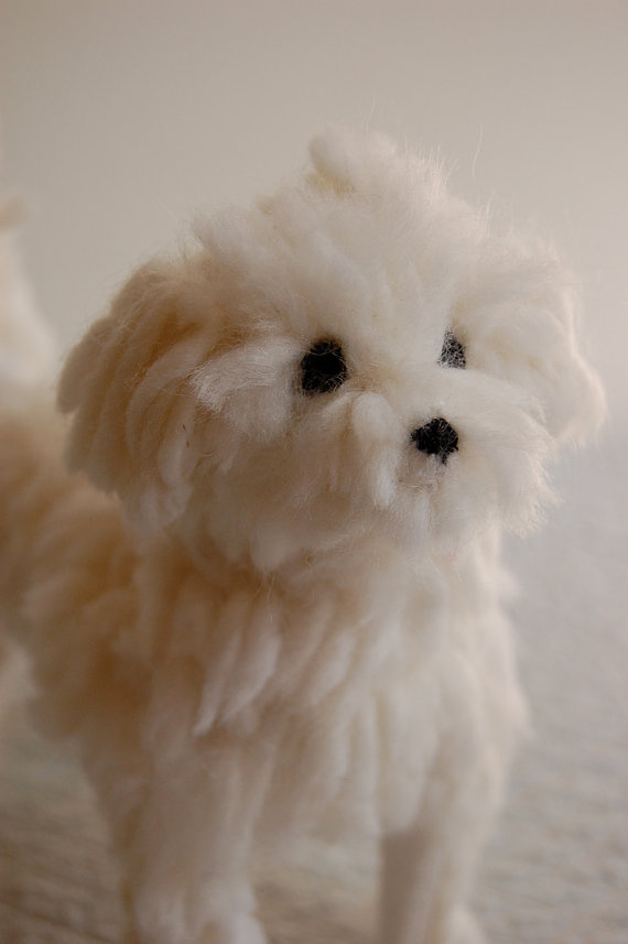 3D pet portrait by sian on etsy
