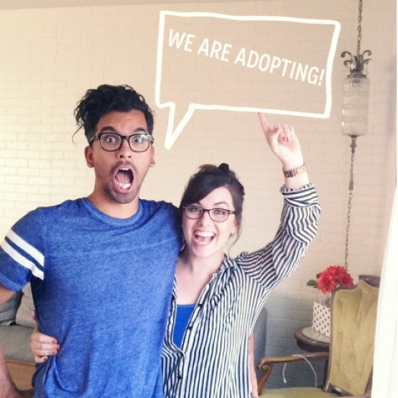sara lucero adopting announcement