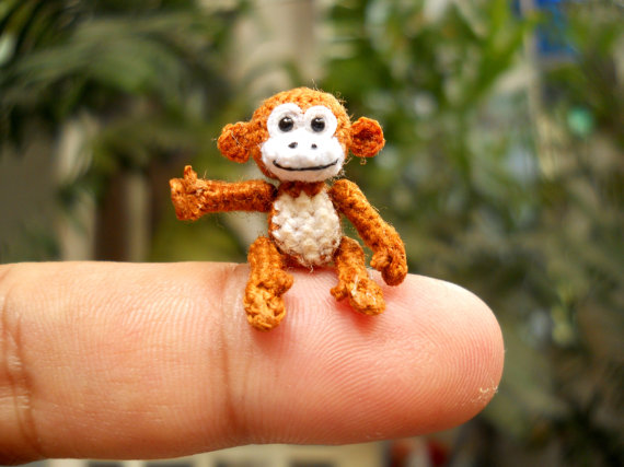 monkey SuAmi crochet miniature