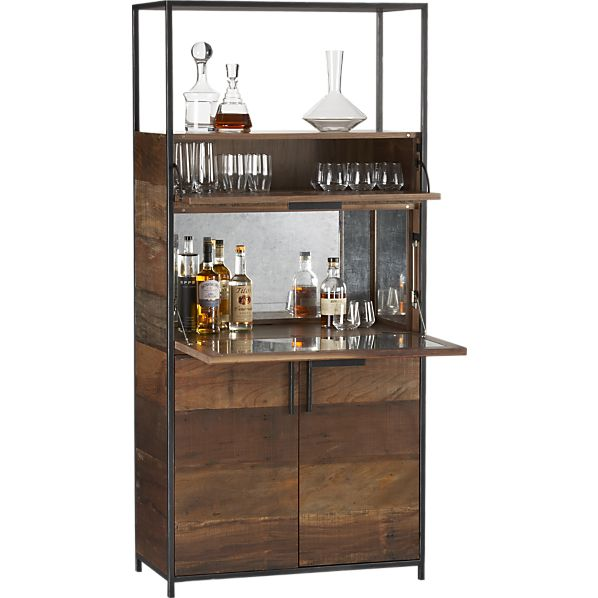 clive-bar-cabinet crate & barrel - Crate & Barrel Stick Girl JAM