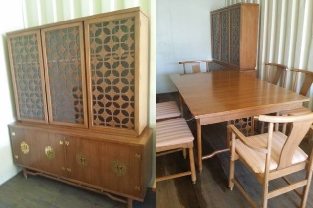 craigslist dining set hutch