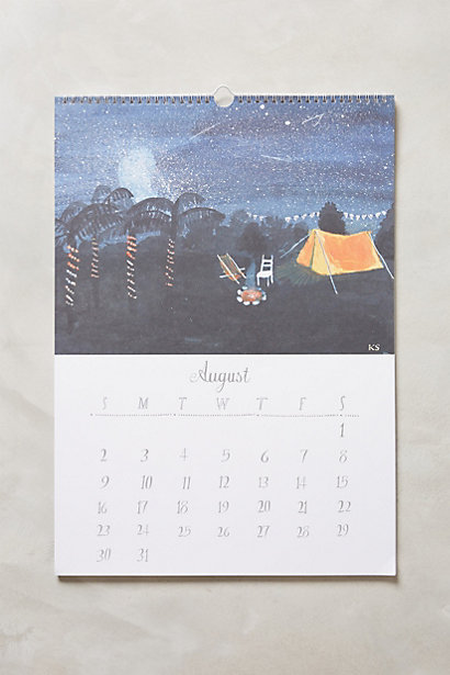 imaginary travels calendar