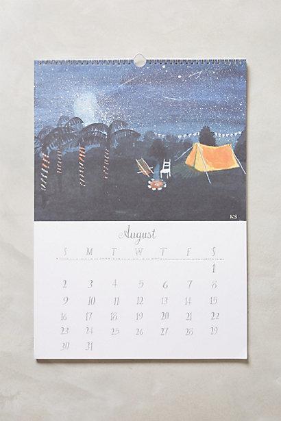imaginary travels calendar