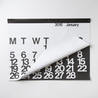 stendig wall calendar via schoolhouse electric