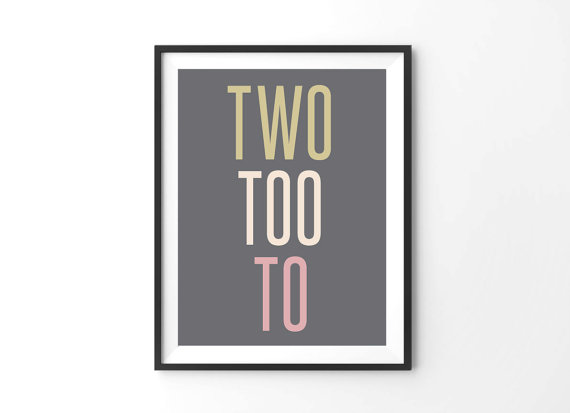 two too to print